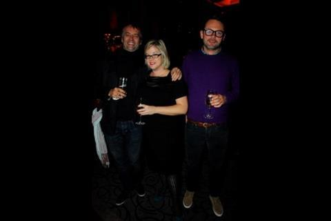 Palm Dog and Fidos founder Toby Rose, Screen's Wendy Mitchell, and Bankside's Stephen Kelliher